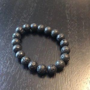Jewelry - Lava stretch bead bracelet